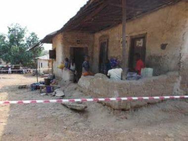 Case in quarantena nel villaggio di Rosanda