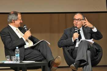 Vincenzo Morgante, direttore TGR Rai - Michele Zanzucchi, direttore Città Nuova