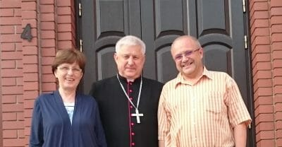 Mons. Stanislav Szyrokoradiuk, vescovo di Kharkiv